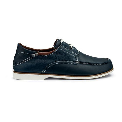 Mens OluKai Moku Casual Shoe - Trench Blue 10