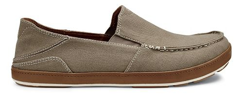 Mens OluKai Puhalu Canvas Casual Shoe - Clay/Toffee 13