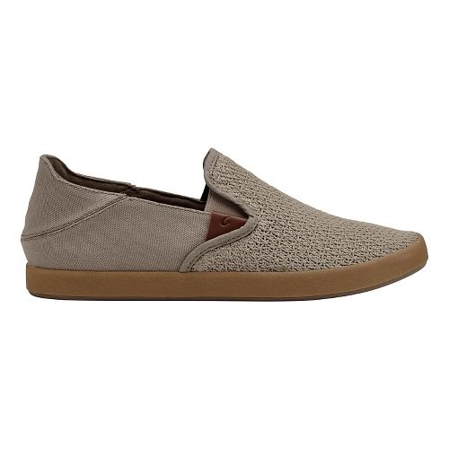 Mens OluKai Makani Casual Shoe - Clay/Knit 10