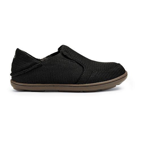 Kids OluKai Nohea Mesh Boys Casual Shoe - Black 1Y