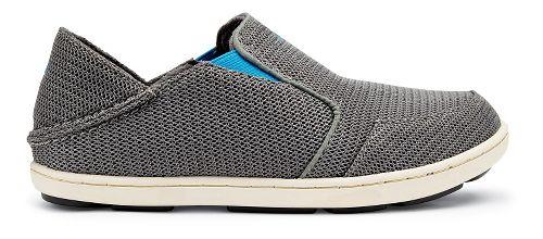 OluKai Nohea Mesh Casual Shoe - Grey/Scuba 2Y