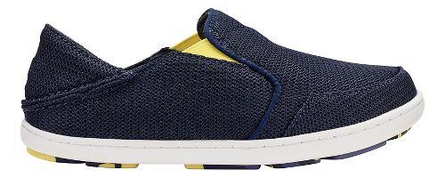 OluKai Nohea Mesh Casual Shoe - Trench Blue/Bright 12C