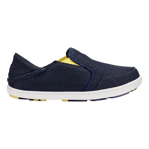 OluKai Nohea Mesh Casual Shoe - Trench Blue/Bright 1Y
