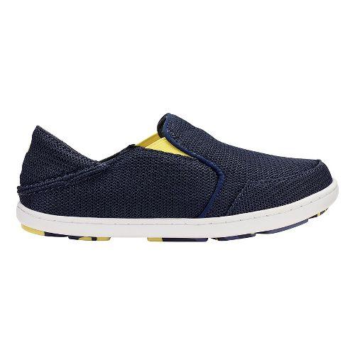 OluKai Nohea Mesh Casual Shoe - Trench Blue/Bright 9C