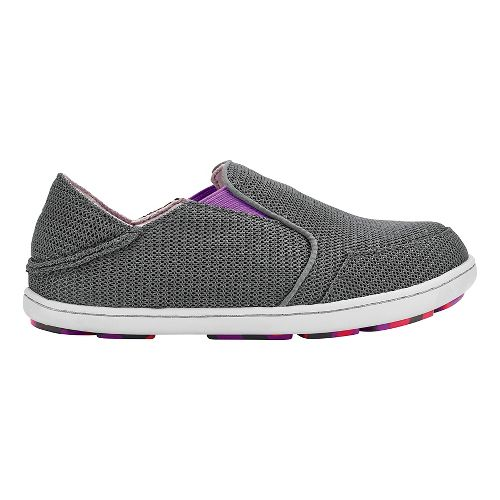 OluKai Nohea Mesh Casual Shoe - Dark Shadow/Dahlia 9C