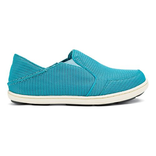 Kids OluKai Nohea Mesh Girls Casual Shoe - Marine/Sea Glass 11C