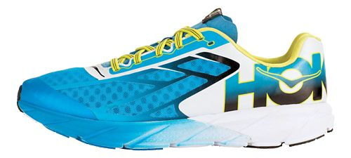 Mens Hoka One One Tracer Running Shoe - Cyan/Black 10.5