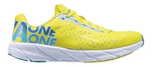 Mens Hoka One One Tracer Running Shoe - Yellow/Blue 8.5