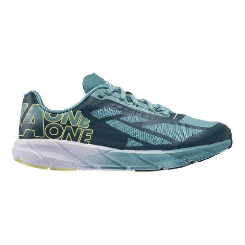 Womens Hoka One One Tracer Running Shoe - Teal/Meadowbrook 7.5