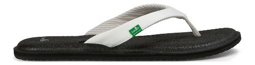 Womens Sanuk Yoga Chakra Sandals Shoe - White 10