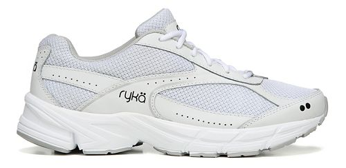 Womens Ryka Brisk Walk Walking Shoe - White/Silver 7.5