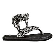 Womens Sanuk Yoga Slinged Up Prints Sandals Shoe