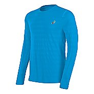 Mens ASICS Seamless Long Sleeve Technical Tops