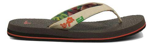 Womens Sanuk Yoga Paradise Sandals Shoe - Tan 5