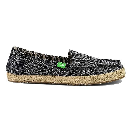 Womens Sanuk Fiona Casual Shoe - Charcoal 11