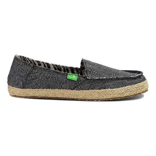 Womens Sanuk Fiona Casual Shoe - Charcoal 6