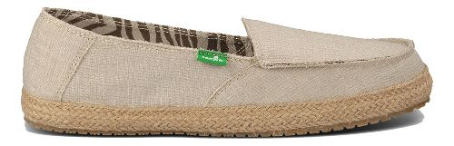 Womens Sanuk Fiona Casual Shoe - Natural 7
