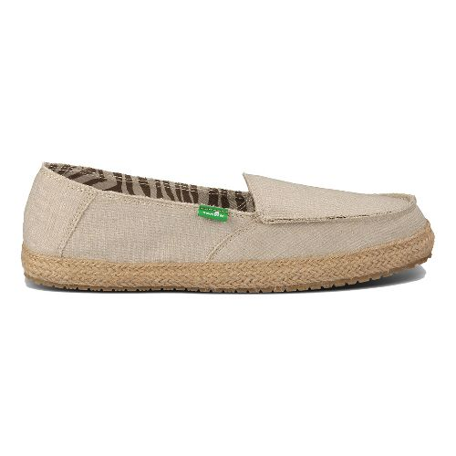 Womens Sanuk Fiona Casual Shoe - Natural 10