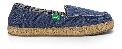 Womens Sanuk Fiona Casual Shoe - Slate Blue 7