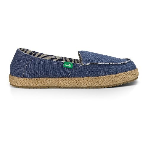 Womens Sanuk Fiona Casual Shoe - Slate Blue 10