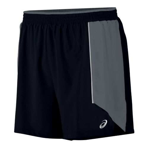 Mens ASICS Tech Short 5 Lined Shorts - Black L