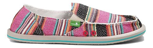 Womens Sanuk Donna Casual Shoe - Pink Poncho 7