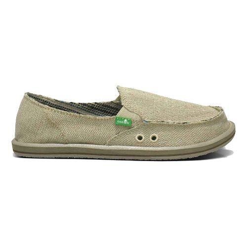 Womens Sanuk Donna Hemp Casual Shoe - Natural 6