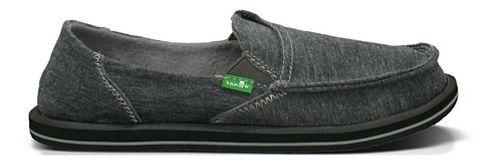 Womens Sanuk Pick Pocket Fleece Casual Shoe - Charcoal 10
