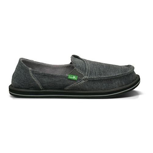 Womens Sanuk Pick Pocket Fleece Casual Shoe - Charcoal 6