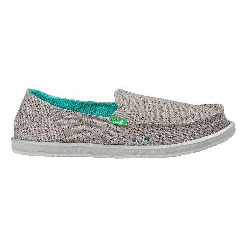 Womens Sanuk Donna Paige Casual Shoe - Grey 6