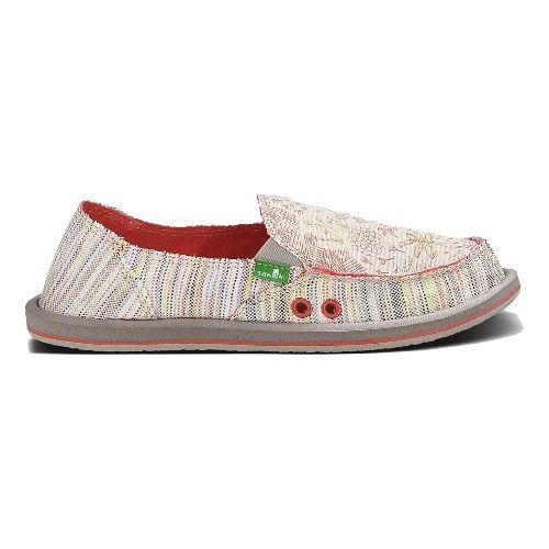Womens Sanuk Scribble Casual Shoe - Tropical 7