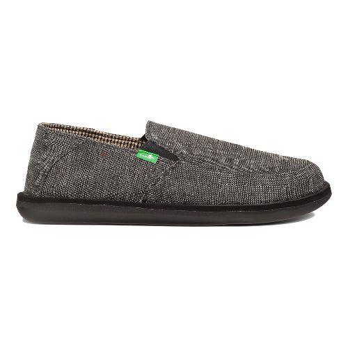 Mens Sanuk Vice Casual Shoe - Black Vintage 10