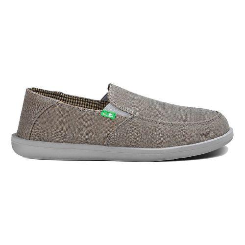 Mens Sanuk Vice Casual Shoe - Charcoal Vintage 10
