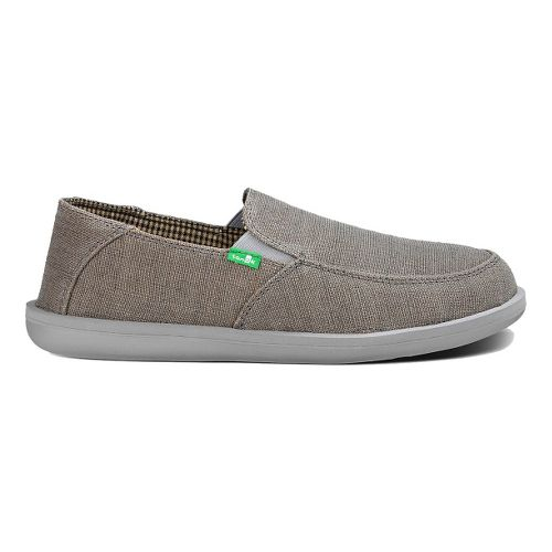 Mens Sanuk Vice Casual Shoe - Charcoal Vintage 11