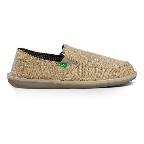 Mens Sanuk Vice Casual Shoe - Natural Vintage 12