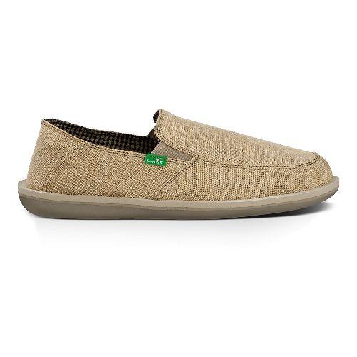 Mens Sanuk Vice Casual Shoe - Natural Vintage 9