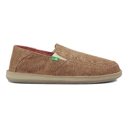 Mens Sanuk Vice Casual Shoe - Brown Vintage 11