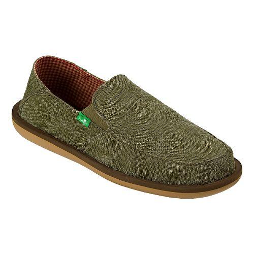 Mens Sanuk Vice Casual Shoe - Olive 11