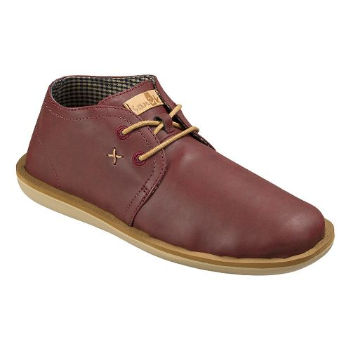 Mens Sanuk Koda Select Casual Shoe - Burgundy 8
