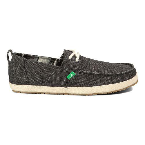 Mens Sanuk Admiral Casual Shoe - Black 10