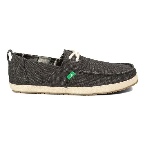 Mens Sanuk Admiral Casual Shoe - Black 7