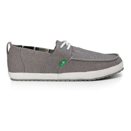 Mens Sanuk Admiral Casual Shoe - Grey 9