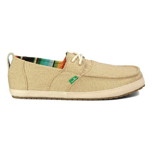 Mens Sanuk Admiral Casual Shoe - Tan 7