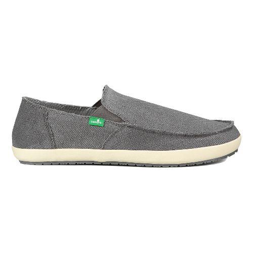 Mens Sanuk Rounder Hobo Casual Shoe - Charcoal 11