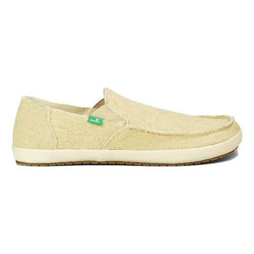 Mens Sanuk Rounder Hobo Casual Shoe - Natural 10