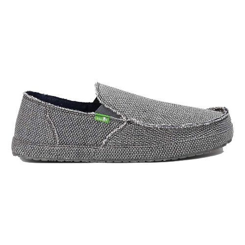 Mens Sanuk Rounder Casual Shoe - Charcoal 8