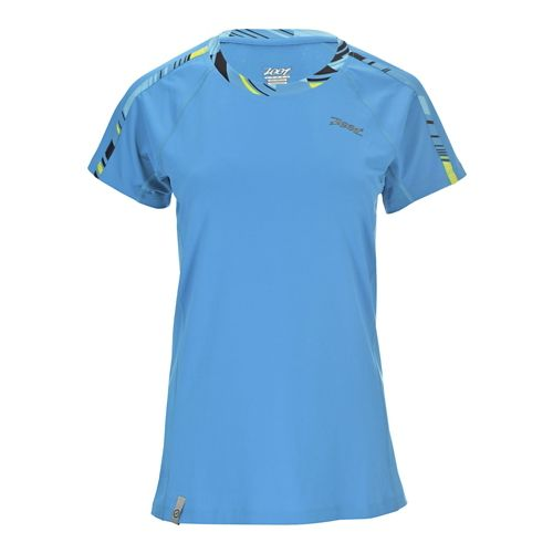Womens Zoot Chill Out Tee Short Sleeve Technical Tops - Ocean M