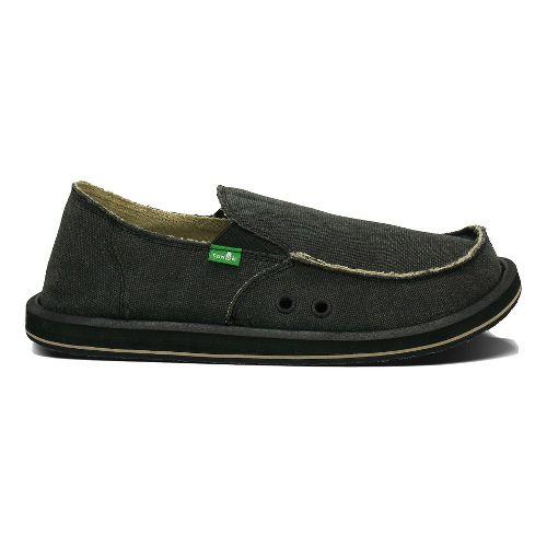 Mens Sanuk Vagabond Casual Shoe - Grey 10