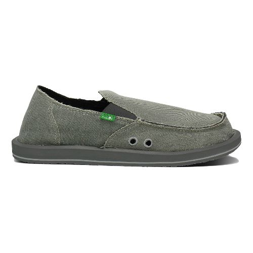 Mens Sanuk Vagabond Casual Shoe - Grey 11