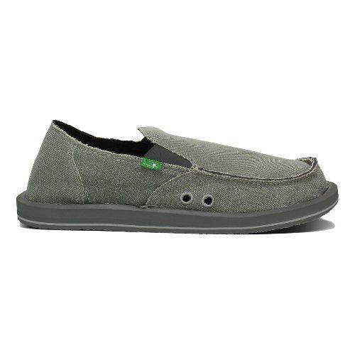 Mens Sanuk Vagabond Casual Shoe - Charcoal 10